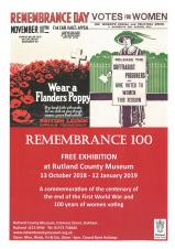 Remembrance 100 - Free Exhibition