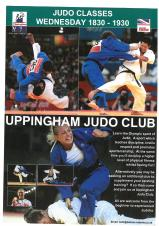 New Judo Sessions at Uppingham Town Hall